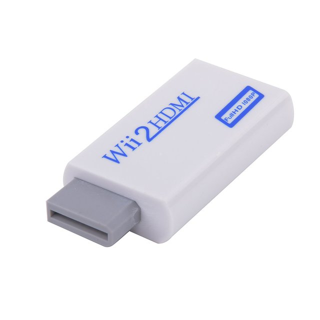 1080P Wii to HDMI Converter Support Full HD 720P 1080P 3.5mm Audio Wii 2 HDMI Adapter for HD TV Wii Converter dropshipping
