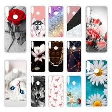 Soft TPU Case For Huawei P40 lite E Cases Silicon Cute Cat Dog Coque Honor 9C AKA-L29 Y7p 2020 ART-L28 ART-L29 Cover