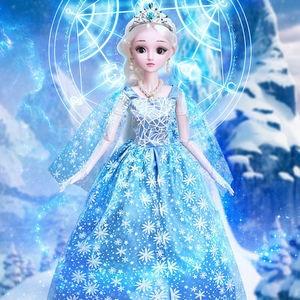 Модные куклы для девочек, 60 см, большая Оригинальная кукла ручной работы 1/3, полный комплект, 20 шарнирных кукол, игрушки для девочек, для дете...
