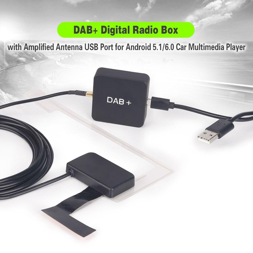 Erisin ES354 DAB + Box цифровой радио тюнер усиленный антенный приемник для Авторадио автомобиля стерео Android 7,0-10,0