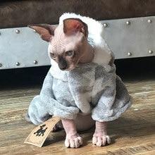 秋冬暖かいペット猫猫ソフト犬猫服 Kedi Katten Mastomas 服プルオーバー ropa パラガトー