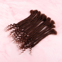 20 Strands VAST Dreads With Culy Ends Extensions High Quality 100% Full Handmade Human Hair