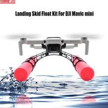 STARTRC Mini flotador de deslizamiento para aterrizaje, DJI Mavic, expansión para Mini tren de aterrizaje, accesorios de equipo de entrenamiento, aterrizaje en agua