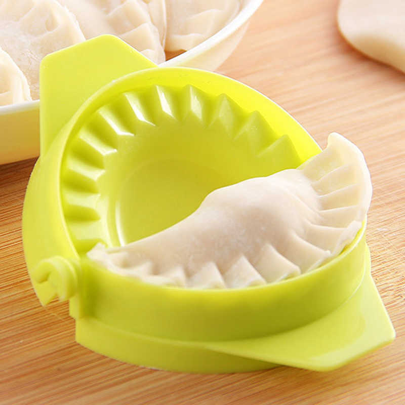 1 pçs diy bolinhos ferramenta de alta qualidade bolinho comida chinesa jiaozi criador dispositivo fácil bolinho molde clipes acessórios da cozinha