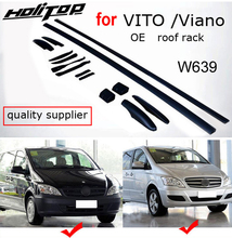 original model roof rack roof rail roof bar for old VITO Viano W639 2011 2015,upgrade your car,two kinds of length,guarantee fit