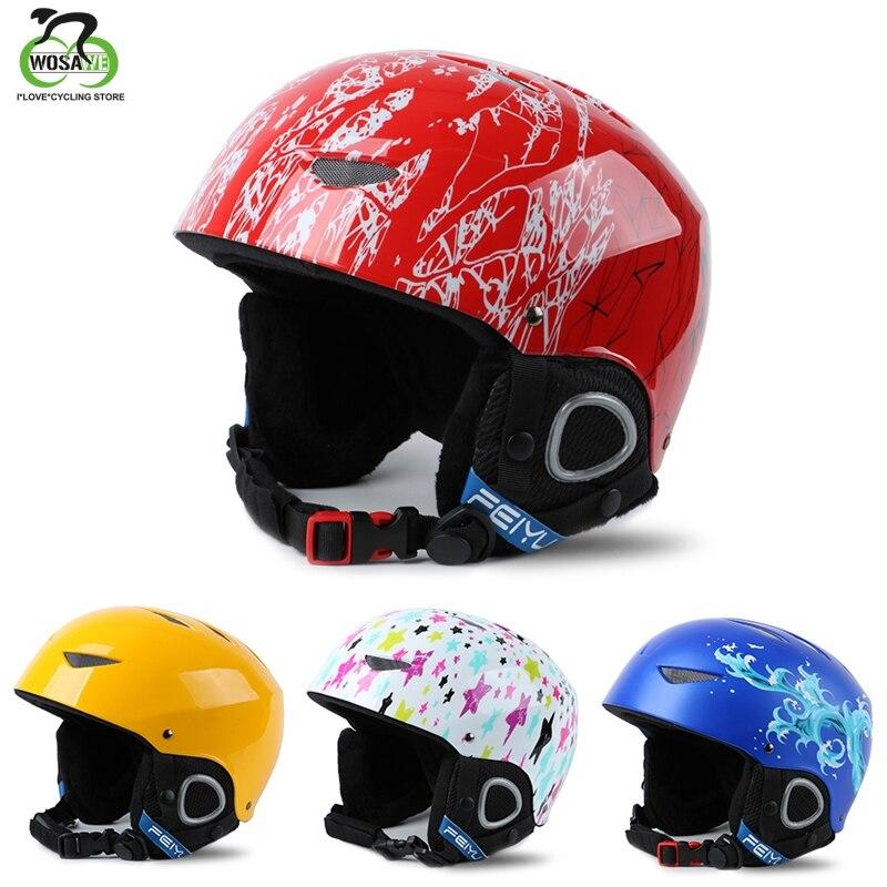 От 3 до 10 лет, детский лыжный шлем, шлем для сноуборда, зимний ветрозащитный флисовый скейтборд, Балансирующий велосипед/Автомобильный спорт