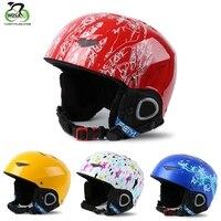 3 10 Age Kids Ski Helmet Snowboard Helmet Winter Snow Windproof Fleece Skateboard Balance Bike/Car Sports Safety Helmet 47 56cm