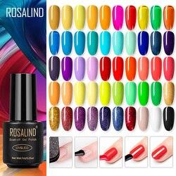 ROSALIND Gel polish Hybrid Varnishes For Nails Manicure Autumn Colors base primer Nail art Gel nail polish semi permanent enamel