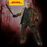 19 Friday the 13th Part Statue Phonomania Bust Jason.Voorhees Full Length Portrait Art Craft PVC Action Figure Toy 48CM V845