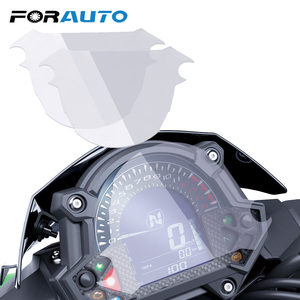 FORAUTO 2Pcs Moto Instrument Speedometer Film Screen Protector Sticker For Kawasaki Z900 Z650 2017 Cluster Scratch Protection(China)
