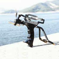 Professional Catapult Full Set Fishing Slingshot Arrow Laser Slingshot Powerful Fishing Catapult super strong Slingshot Hunting