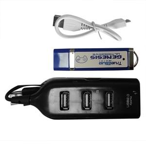 Image 5 - 813 게임 MegaDrive MD 미니 게임 스틱 레트로 게임 콘솔 스틱 4 포트 USB 허브 용 Genesis 용 True Blue Mini Ultradrive Pack
