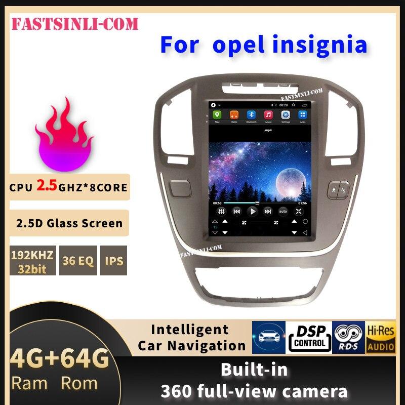 Вертикальный экран android системы автомобиля gps Мультимедиа Видео Радио плеер в тире для opel insignia автомобиля navigaton стерео