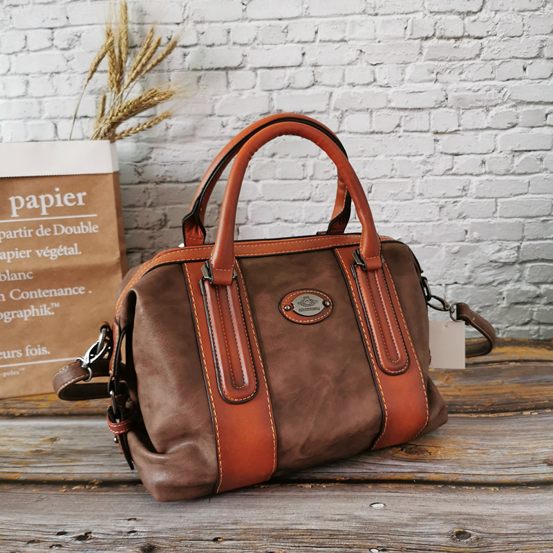 IMYOK 2019 New Women Genuine Leather Female Bag Fashion Leisure Women Large Capacity Dumpling Bag Handbag Single-shoulder Bag
