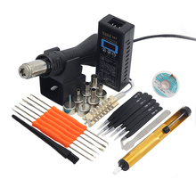 KADA 8858 887 hot air soldering station portable hot air station microcomputer intelligent temperature control hot air gun