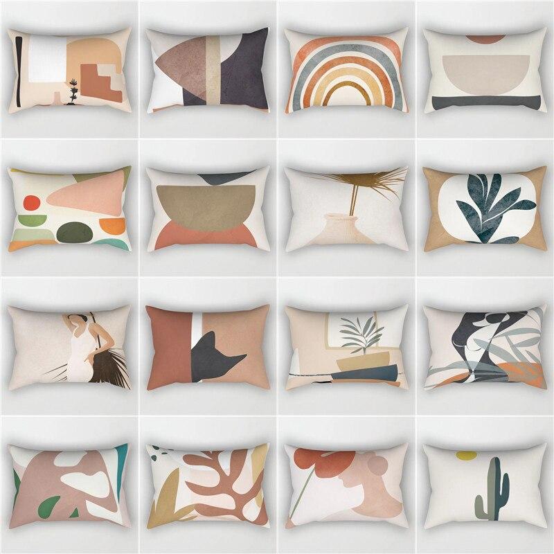 Elife Bohemian Vintage Polyester Decorative  Rectangular Pillow Shams Pillow Case Throw Cushion Cover For Sofa Car 30x50cm