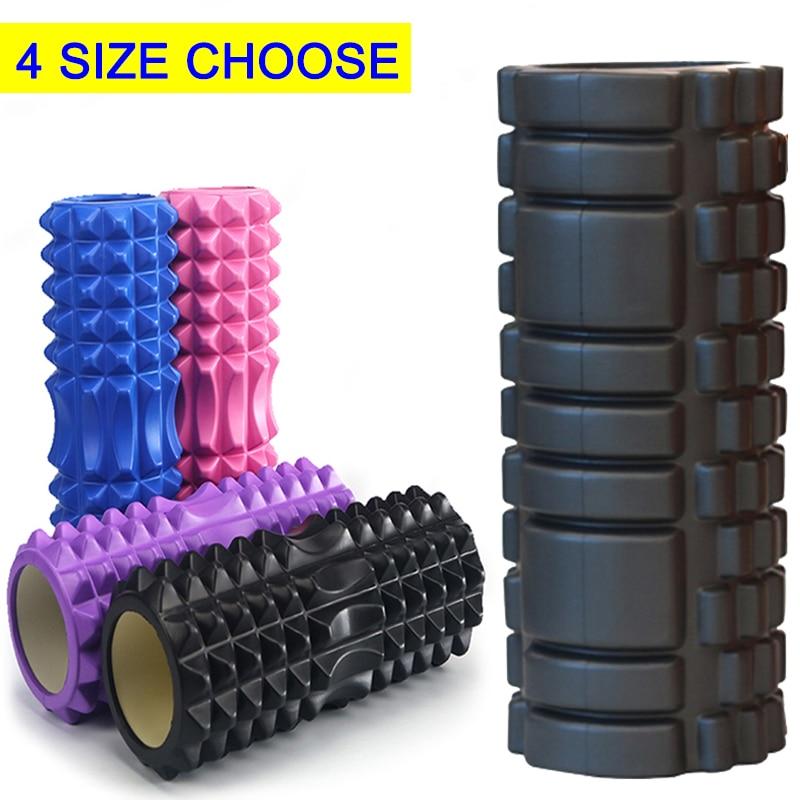 Yoga Foam Roller Massage Tools Training Fitness Soft blocks Pilates Sports Muscle Relaxation Home EVA Yoga Column Gym Exercise