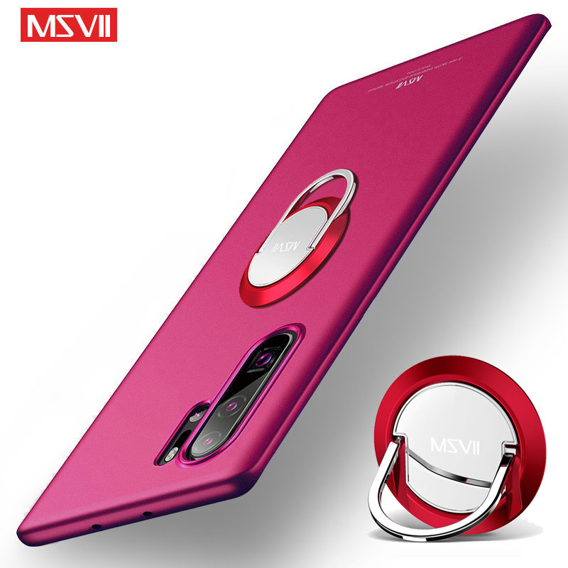 Coque For Samsung Galaxy Note 10 9 8 Case MSVII Ring Cover For Samsung Note 8 9 10 Plus Case Slim Holder Cover Note 10 Pro/Plus bed making tools