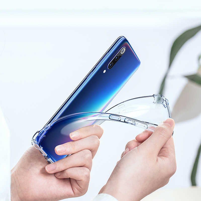 קצה מחוזק מגן מקרה עבור xiaomi Redmi הערה 7 8 פרו 5 בתוספת מקרה טלפון רך הסיליקון עבור Redmi K20 פרו 7a 6a 4a 4X כיסוי