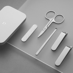 Image 5 - Xiaomi Mijia 5pcs Stainless Steel Nail Clippers Set Trimmer Pedicure Care Clippers Earpick Nail File Professional Beauty Trimmer