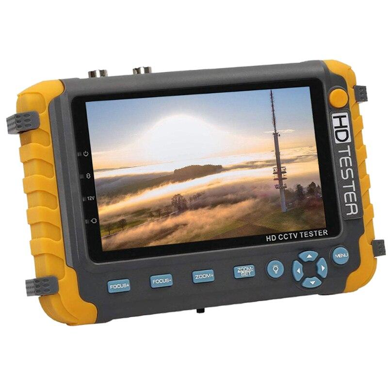 5MP iv8w HD Monitor de Testador CCTV AHD 1080P 720P Analógico Tester HDMI VGA entrada DC12V
