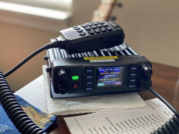 Anytone AT-D578UVIIIPRO DMR and Analog Radio Station 50W VHF UHF GPS APRS Bluetooth Walkie Talkie DMR Car Radio Communicator 4