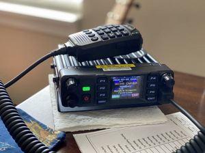 Image 4 - Anytone AT D578UVPRO DMR and Analog Radio Station 50W VHF UHF GPS APRS Bluetooth Walkie Talkie DMR Car Radio Communicator