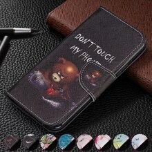 Etui portefeuille à rabat en cuir pour Xiaomi Redmi Note 8 Pro Note 7 7A 6 6A A2 Lite Pocophone F1 fentes pour cartes fermeture magnétique