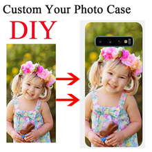 Custom Photo Case For Samsung S20 Ultra S20 Plus S7 S8 S9 S10 Plus Note 10 9 8 A10 A20 A30 A40 A50 A70 A7 2018 Customized Cover