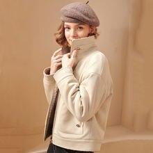 Куртка оверсайз женская Зима 2020 Новое модное короткое пальто