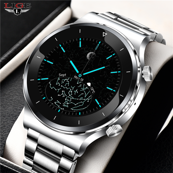 2020 New Smart watch sports metal heart rate sleep monitor bluetooth call IP68 waterproof sports watch male for IOS Android +Box smart wacth men sports waterproof smart phone watch heart rate sleep monitor stopwatch bluetooth ios android wearable devices