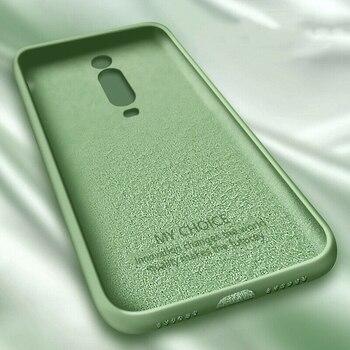 Coque en Silicone liquide pour Xiaomi Mi Note 10 Pro 9 SE 9T Pro A3 A2 Lite housse souple mince pour Xiaomi Redmi Note 9 s 8 Pro 7 8T 7A 8A 2