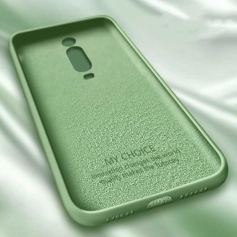 Vloeibare Siliconen Case Voor Xiaomi Mi Note 10 Pro 9 Se 9T Pro A3 A2 Lite Slim Soft Cover voor Xiaomi Redmi Note 8 Pro 7 8T 7A 8A K30