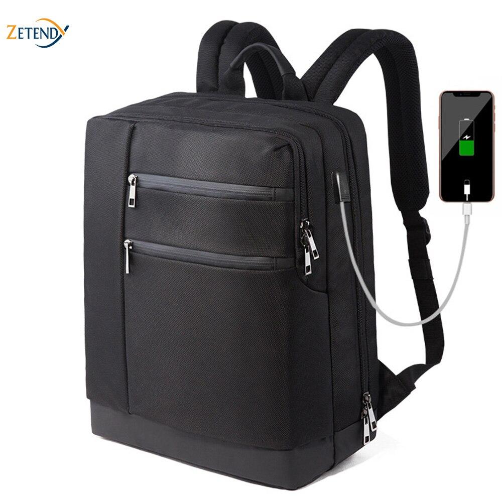 Sac à dos multi-fonction USB Port chargeant le sac de voyage de coquille dure de Silicone de grande capacité imperméable à l'eau de tissu d'oxford de haute qualité