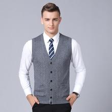 MACROSEA, классический дизайн, мужской весенне-осенний жилет, мужской жилет без рукавов, пуловер, деловой повседневный мужской вязаный свитер 9065
