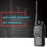 רדיו דו כיווני 2pcs ניו מכשיר הקשר רדיו דו כיווני תחנת משדר שני הדרך רדיו Communicator USB טעינה ווקי טוקי WT666S (3)