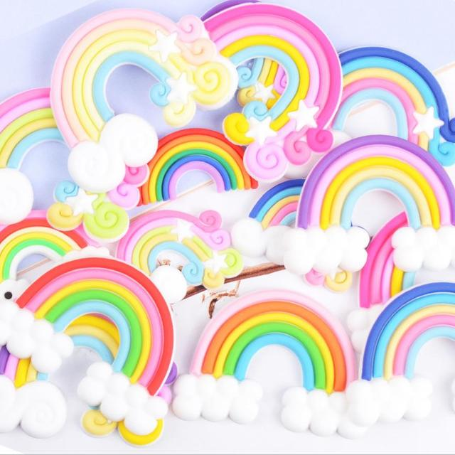 35*20mm High Quality Beauty 3 colors Kawaii Spiral   Ice cream Polymer Clay Cabo