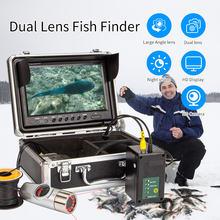 Syanspan двойной Камера подводная рыбалка двойная лампа Ночное