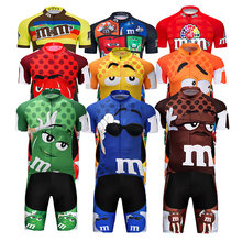Crossrider 2021 Funny Cycling Jersey MTB Mountain bike Clothing Mens Short Cycling Set Bicycle Wear Clothes Maillot Culotte Suit