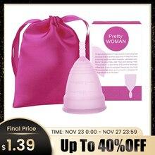 Medizinische Silikon Menstrual Cup Menstruation Tasse Feminine Hygiene Silikon Tasse Dame Frau Tasse Coletor Menstruations Copa Mestrual