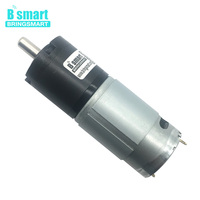 Bringsmart DC Gear Motor 12 24V Planetary Motor 60kg.cm Reducer Mini Planetary Electrical Reduction Motor PG36 555