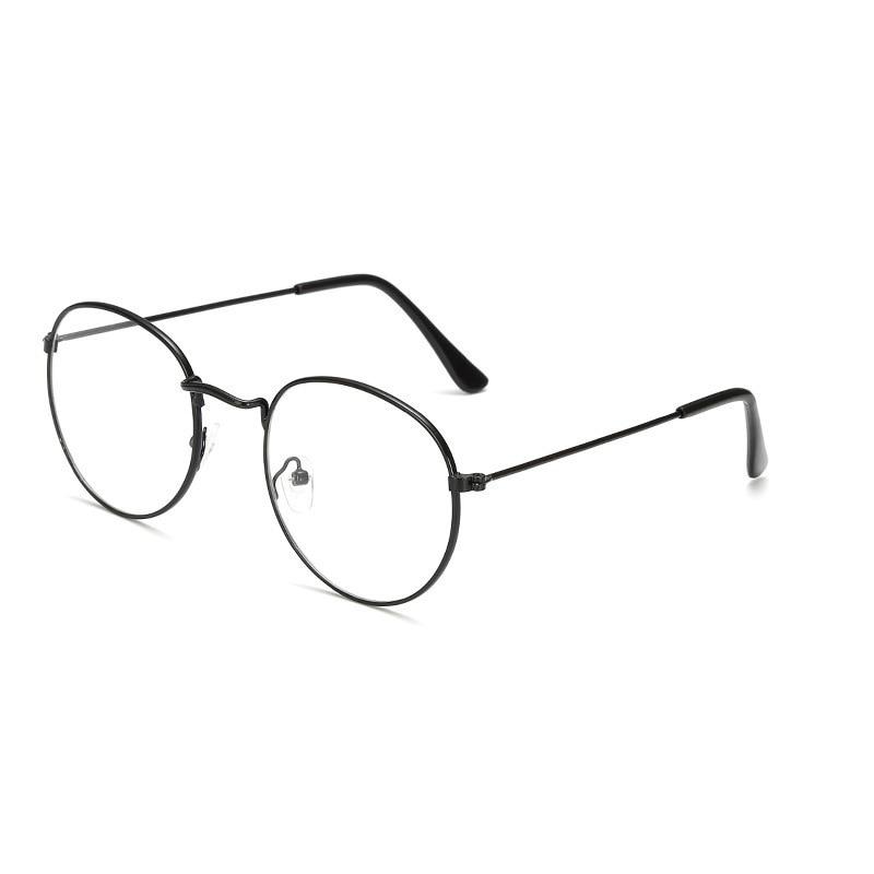 Occhiali da lettura rotondi (fly occhiali da vista in metallo Prebyopia per uomo donna Hyperopia occhiali da vista montatura diottrie da 0 a 4.0 2