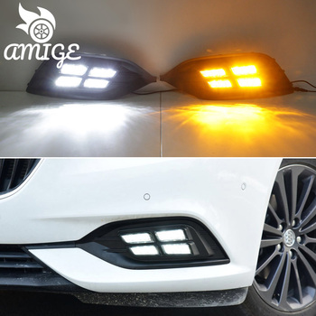 Luces diurnas LED DRL para Opel Insignia 2017 2018 2019, luces diurnas...