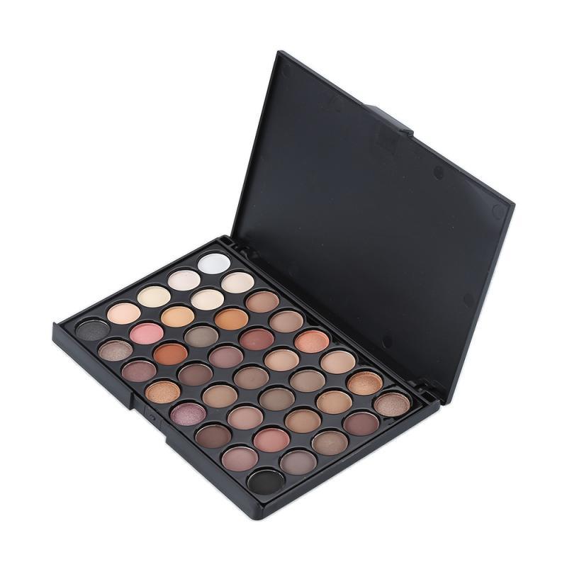 New 40 Color Eyeshadow Matte Shimmer Eyeshadow Palette Glitter Powder Eyeshadow Cosmetic Lasting Waterproof Easy To Wear TSLM1