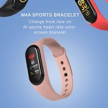 Smart Band M4 Fitness Bracelet Activity Tracker Men Women Wristband Pressure Measurement
