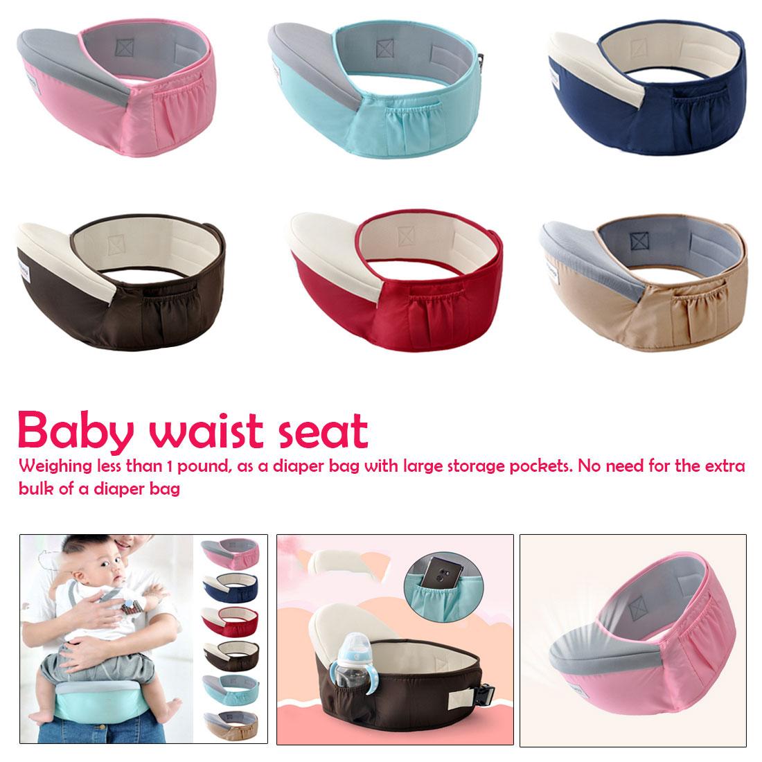 70-120cm Waist Belt Baby  Waist Stool Walkers Baby Sling Hold Waist Belt Backpack Hipseat Belt Kids Infant Hip Seat