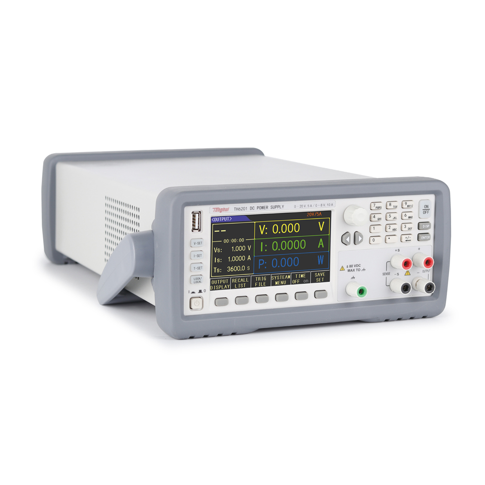 Tonghui TH6213 Double Range Programmable Linear DC Power Supply 5