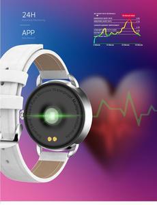 Image 3 - H7 女性のスマートウォッチ IP67 防水心拍数モニター Bluetooth スマートウォッチ Android IOS フィットネスブレスレット PK H1 H2