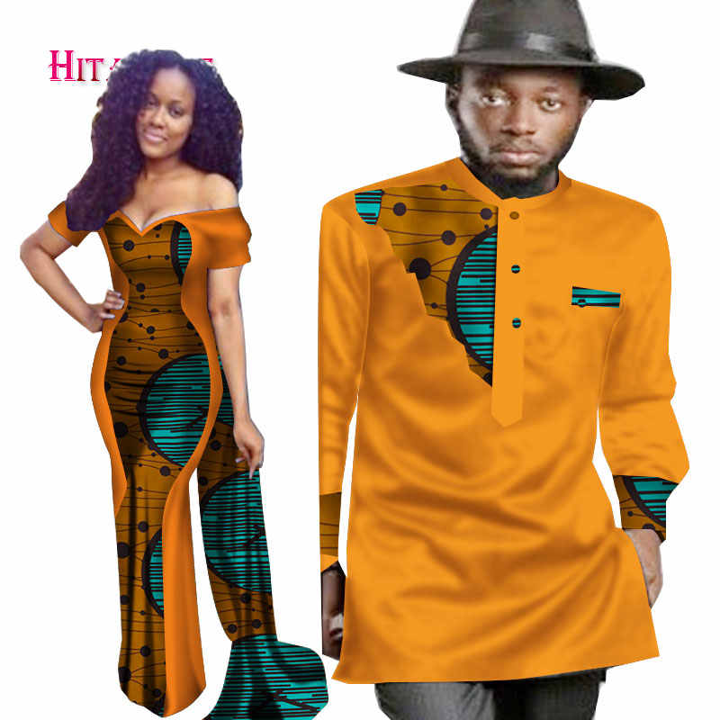 2020 New Designs Couple For Lovers Mrs Men Shirt African Print Clothes Couple Clothing Dress Mens African Shirt Men 6xl Wyq74 African Man Dresses African Clothingmens African Clothing Aliexpress