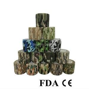 Medical-Tape First-Aid-Kit Camouflage-Bandage Body-Gauze Self-Adhesive Sports Vet 1000pcs